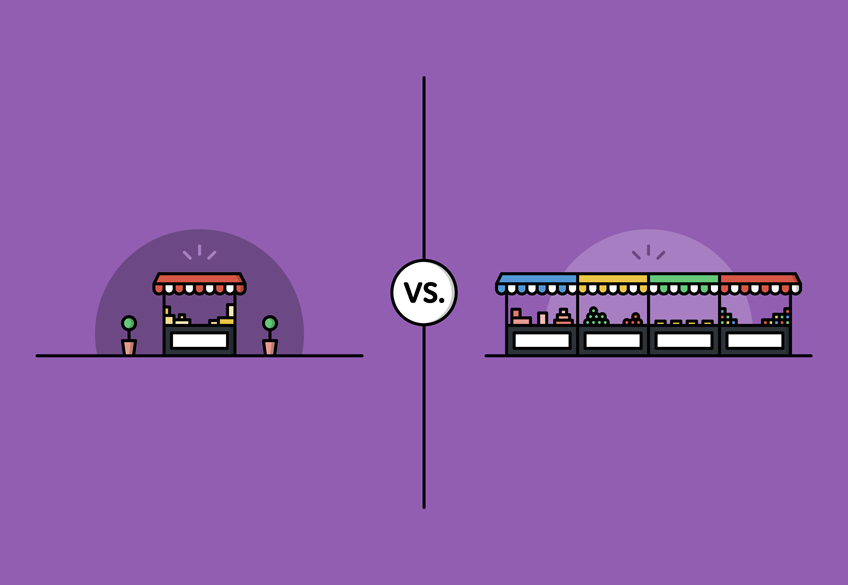 Friday face-off: your own online store vs. eBay and marketplaces