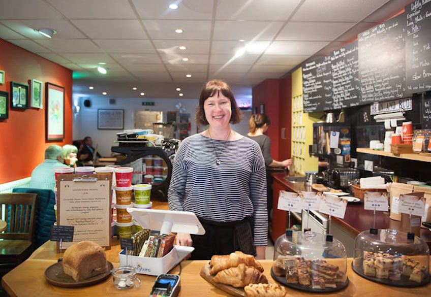 Ethics & evolution — Expert advice from cafe owner Ruth Hampson