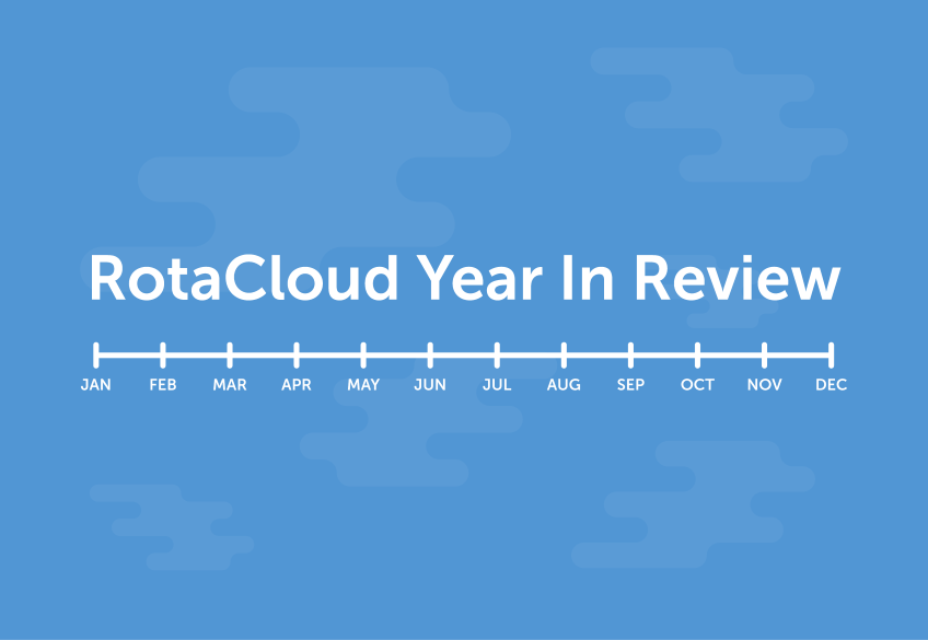 RotaCloud 2016 Year in Review [Infographic]