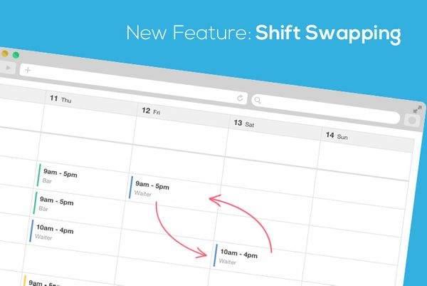 New Feature Alert! Shift Swapping