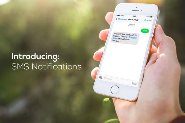 New Add-On: SMS Notifications & When's My Next Shift